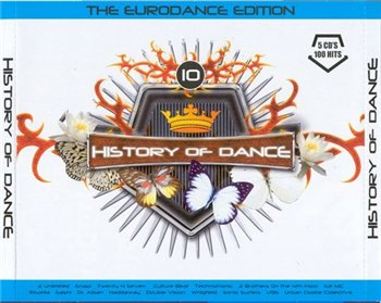 History Of Dance 10 The Eurodance Edition 5CD