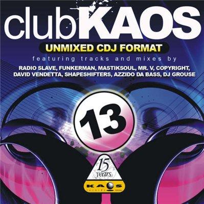 Club Kaos 13 - unmixed Cdj Format (2008)