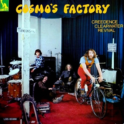 Creedence Clearwater Revival-Cosmo's Factory  (1970)
