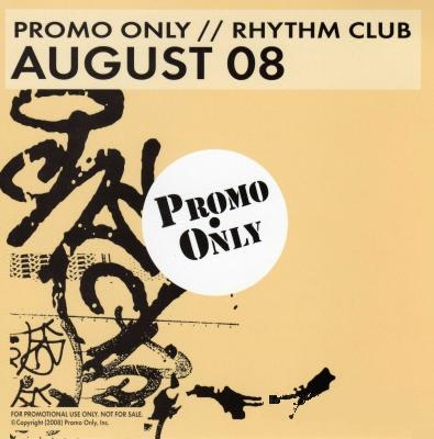 Promo Only Rhythm Club August (2008)