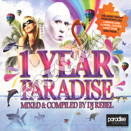 VA - 1 Year Paradise (Mixed and Compiled By DJ Rebel) 2009