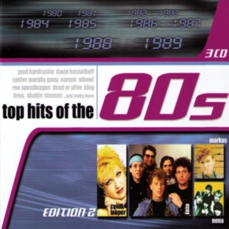 VA-Top Hits of the 80s (Edition 2) 3CD (2009)