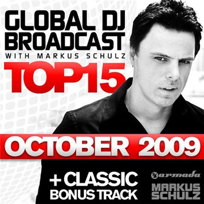 Global DJ Broadcast: Top 15 - October 2009