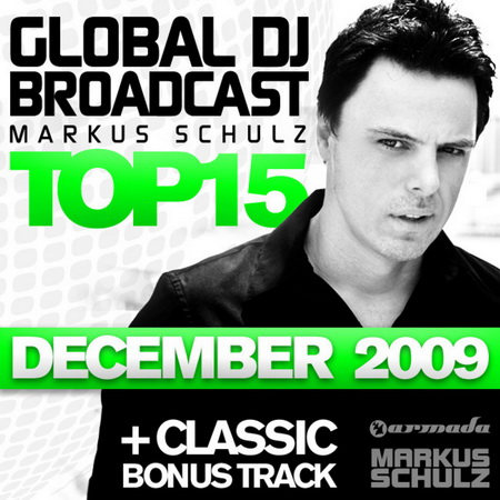 VA-Global DJ Broadcast Top 15: December 2009 (unmixed tracks) (2009)