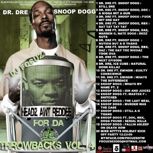 Dre & Snoop Dogg-Headz Aint Reddee For Da Throwbacks