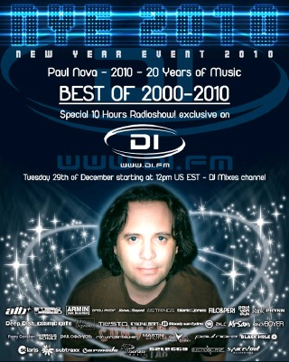 Paul Nova - 20 Birthday as DJ - Best Electronic Songs 2000-2010 (29-12-2009)