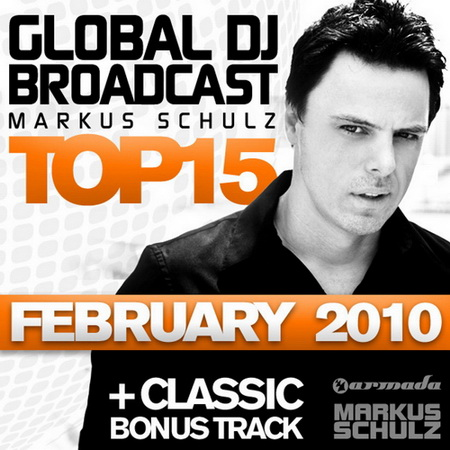 VA-Global DJ Broadcast Top 15 (February 2010)