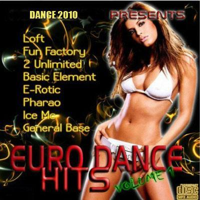 Euro Dance Hits vol.1 (2010)