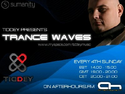 Tiddey - Trance Waves 013 (25-07-2010)