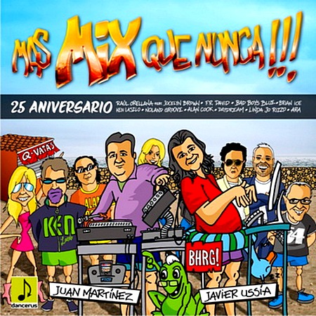 VA-Mas Mix Que Nunca 25th Anniversary (2010)