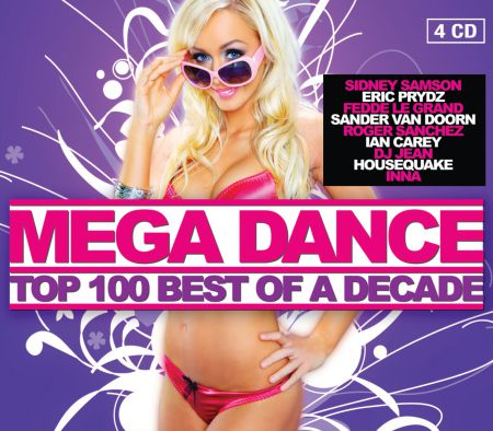 VA-Mega Dance Top 100 - Best of a Decade (2010)