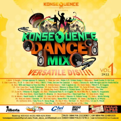 VA - Konsequence Intl Presents-Dance Mix Vol 1 (2011)