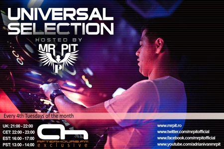 Mr Pit - Universal Selection 041 (10-01-2012)