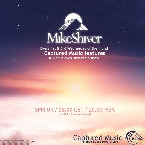 Mike Shiver - Captured Radio 256 (guest Johan Vilborg) (25-01-2012)