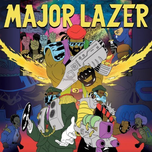 Major Lazer - Free the Universe (Japanese iTunes Edition) (2013)