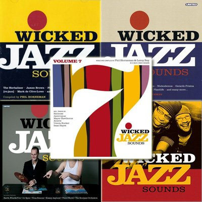 VA - Wicked Jazz Sounds Collection, Vol.1-7 (2005-2007)