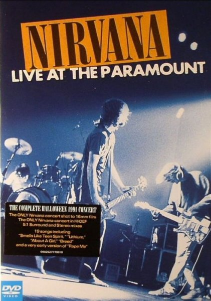 Nirvana-Live At The Paramount (1991) DVD9