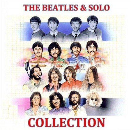 VA - The Beatles And Solo Greatest Hits Collection (2013)