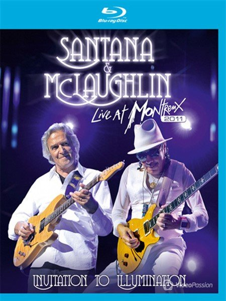 Santana and McLaughlin-Invitation to Illumination Live at Montreux (2013) BDRip 720p