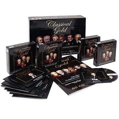 VA - Classical Gold: The Greatest Classical Collection Ever (50CD) (2008)