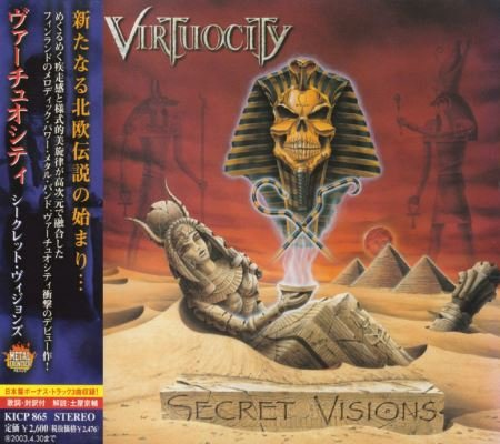 Virtuocity - Secret Visions [Japanese Edition] (2002)