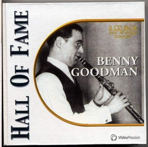 Benny Goodman - Hall Of Fame (1936-1945) 5 CD Box (2002) FLAC