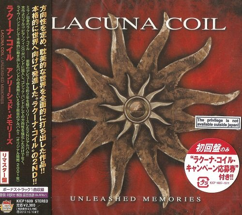 Lacuna Coil - Unleashed Memories (Japan Edition) (2012)