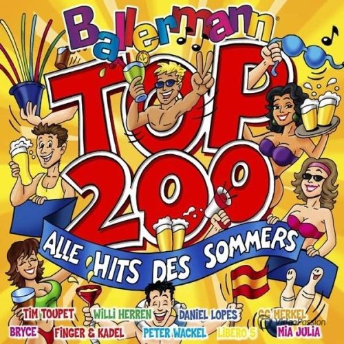 Ballermann Top 200-Alle Hits Des Sommers (2014)