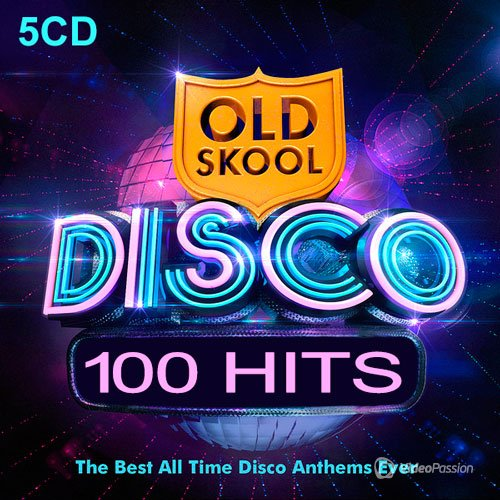 100 Disco Hits (5 CD) (2014)