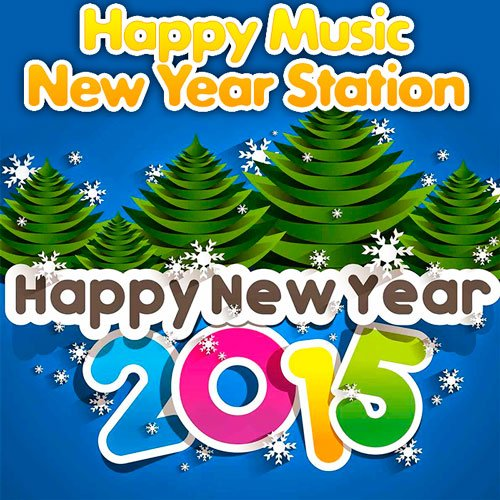 VA-Happy Music - New Year Station (2014)