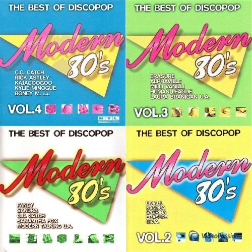 VA-Modern 80s - The Best Of Discopop (2015)