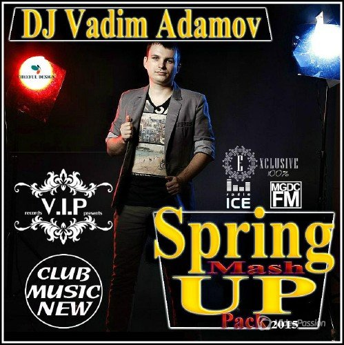 DJ Vadim Adamov - Spring Mash Up Pack (2015)