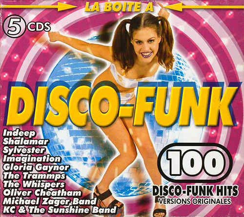 VA - La Boite a Disco-Funk [5CD Box Set] (1999)