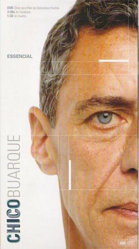 Chico Buarque - Essencial [4CD Box Set] (2008)