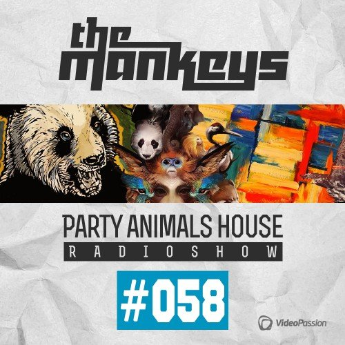 The Mankeys - Party Animals House Radioshow 061 (2015)