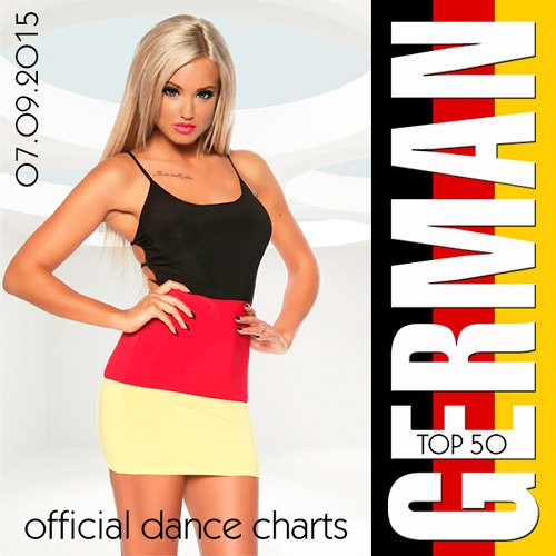 VA-German Top 50 Official Dance Charts 07.09.2015 (2015)