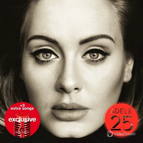 Adele - 25 [Target Exclusive Deluxe Edition] (2015) HQ