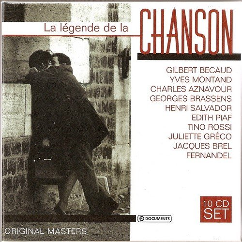 La Legende De La Chanson (Box set 10 CD) (2015)