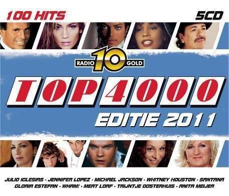 VA - Radio 10 Gold Top 4000 Editie 2011 [5CD Box Set] (2011)