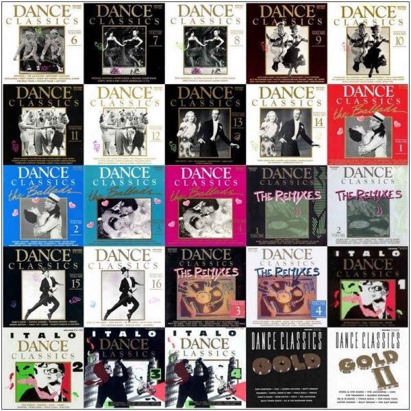 VA - Dance Classics - Collection [85 Albums & Box Sets] (1988-2013) Lossless