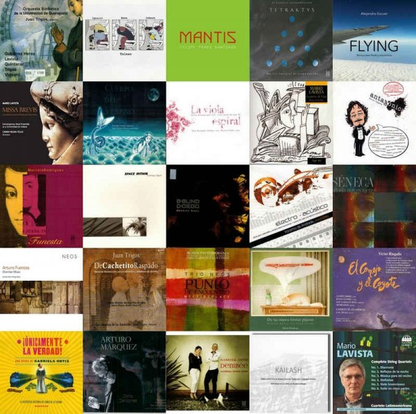 VA - Mexican Contemporary Classical Music Collection (1991-2014)