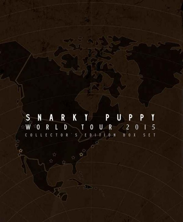 Snarky Puppy ?– World Tour 2015 [Collector's Edition Box Set] (2016)