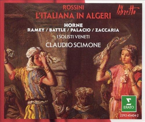 Rossini - L'Italiana in Algeri (Marilyn Horne) (1991)