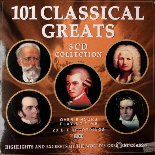 VA-101 Classical Greats 5CD  (2001)