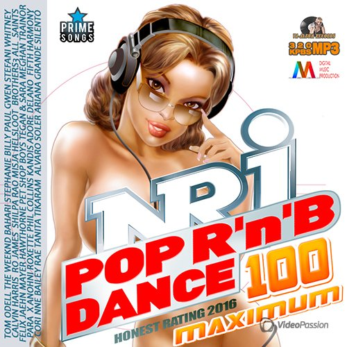100 NRJ Maximum Pop Dance RnB Mix (2016)