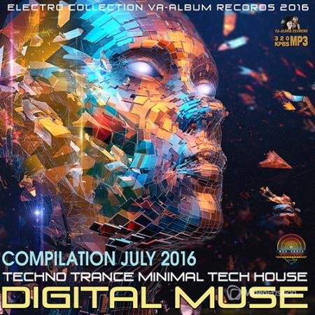 Digital Muse: Techno Mix July (2016)