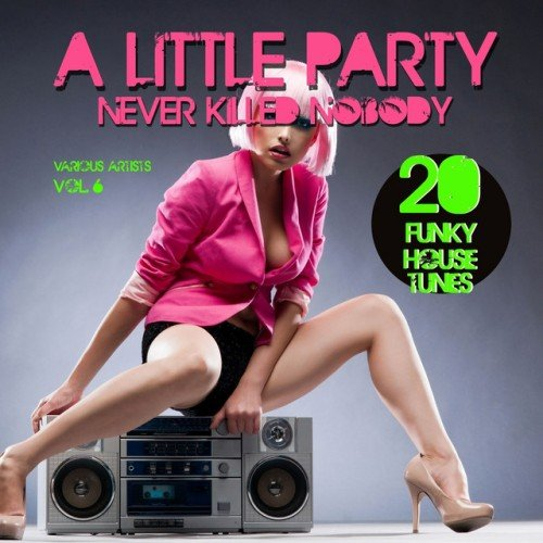 VA - A Little Party Never Killed Nobody Vol.6: 20 Funky House Tunes (2016)