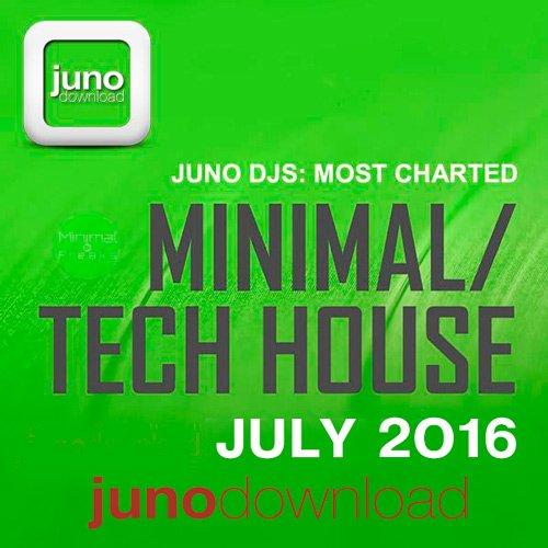 VA-Juno DJs Most Charted Tracks July 2016 (2016)