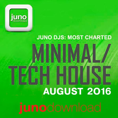 VA-Juno DJs Most Charted Tracks August 2016 (2016)