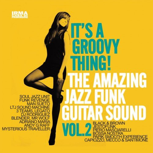 VA - Its a Groovy Thing! Vol.2: The Amazing Jazz Funk Guitar Sound (2016)